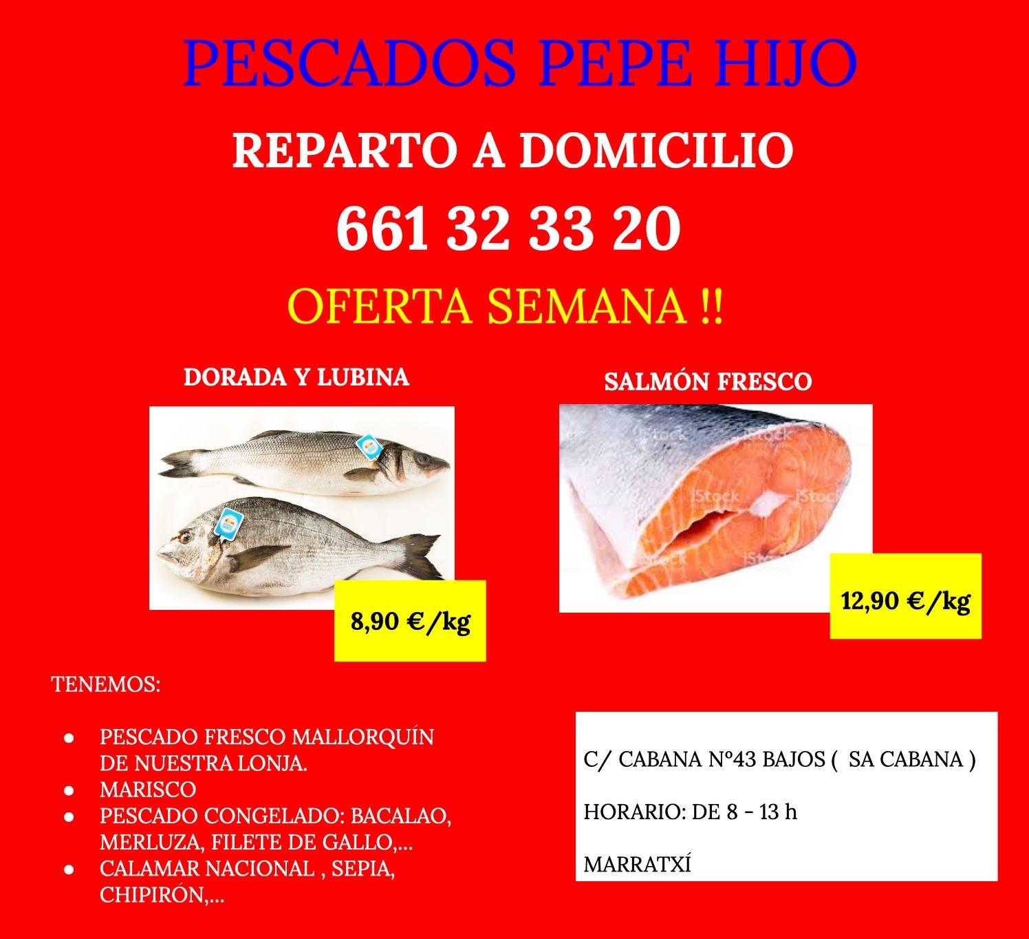 Pescados Pepe hijo